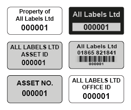 image relating to Printable Asset Tags known as Asset Labels All Labels Ltd