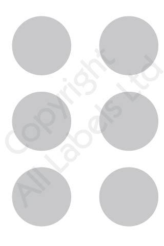Coloured Dots - Grey
