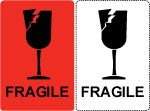 Fragile Shipping Labels.