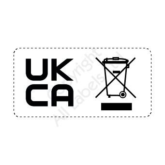 UKCA & WEEE combined logo labels
