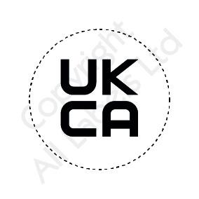 UKCA Logo Labels