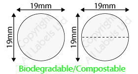 Biodegradable 19mm Clear Seal