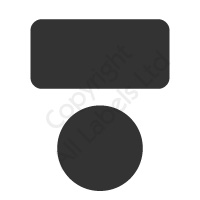 Non Transfer BLACK Polyester Tamper Evident Seals