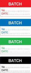 Write On Batch Labels